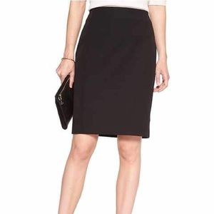 Banana Republic Petite Black Skirt